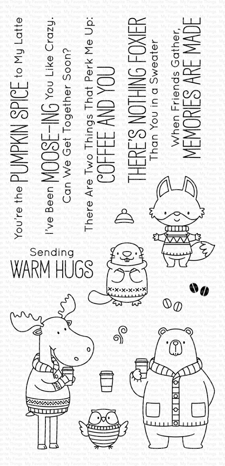 My Favorite Things Clear Stamps Sweater Weather in the Woods