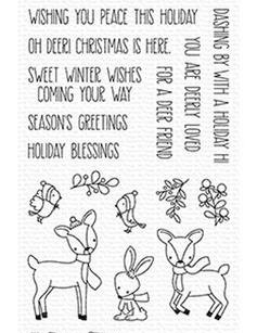 My Favorite Things Clear Stamps Dashing Deer