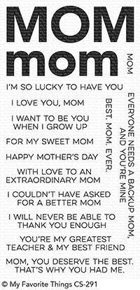 My Favorite Things Stamp & Die Bundle All About Mom