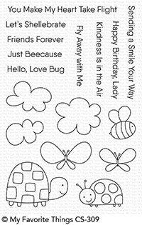 My Favorite Things Stamp & Die Bundle Love Bugs