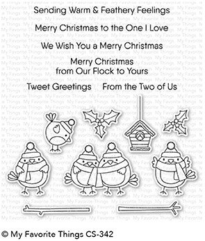 My Favorite Things Clear Stamps Tweet Holidays