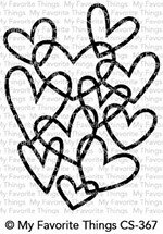 My Favorite Things Clear Stamps Hearts Entwined