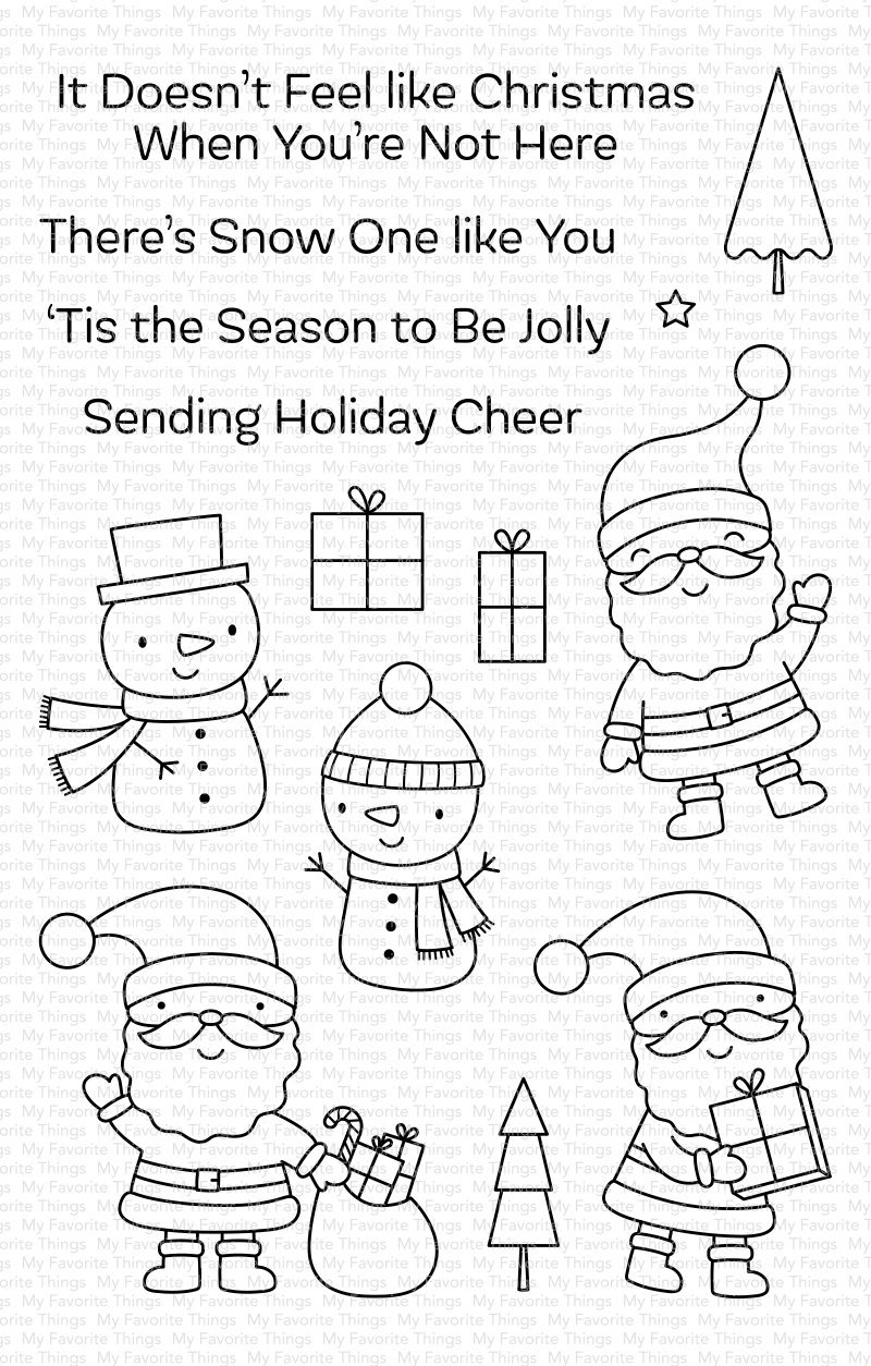My Favorite Things Clear Stamps Tis the Season