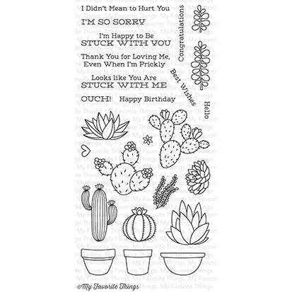 My Favorite Things Stamp & Die Bundle LLD Sweet Succulents