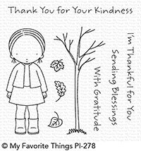 My Favorite Things Clear Stamps PI Sending Blessings