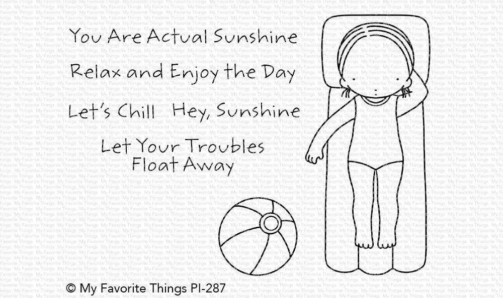 My Favorite Things Clear Stamps Hey, Sunshine