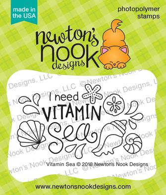 Newton's Nook Designs Stamp Vitamin Sea