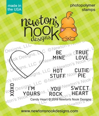 Newton's Nook Designs Candy Heart