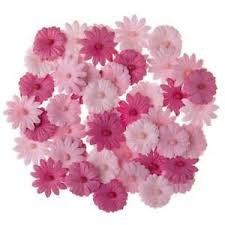 Darice Pink Button Daisy