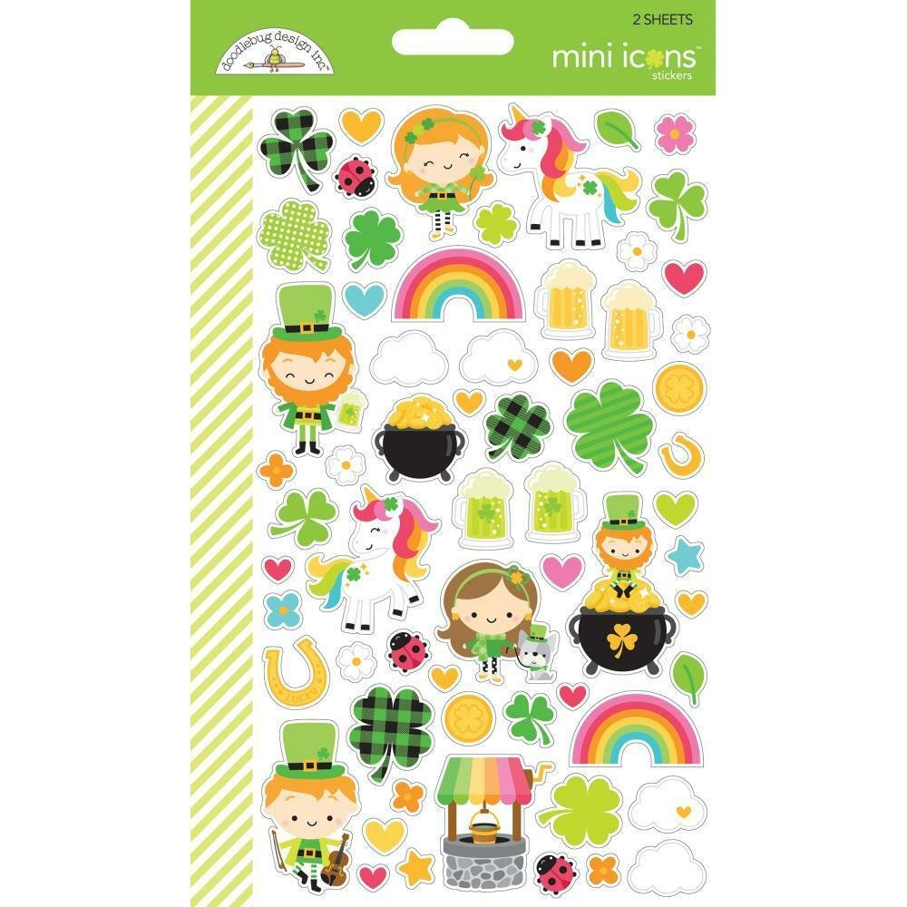 Doodlebug Lots of Luck Mini Icons