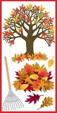 SandylLion Stickers Tree With Leaves
