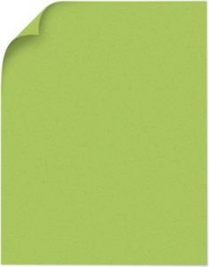 Poptone 100lb cardstock Sour Apple