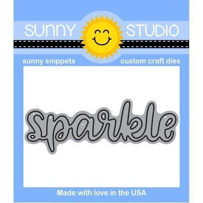 Sunny Studio Snippets Sparkle Die
