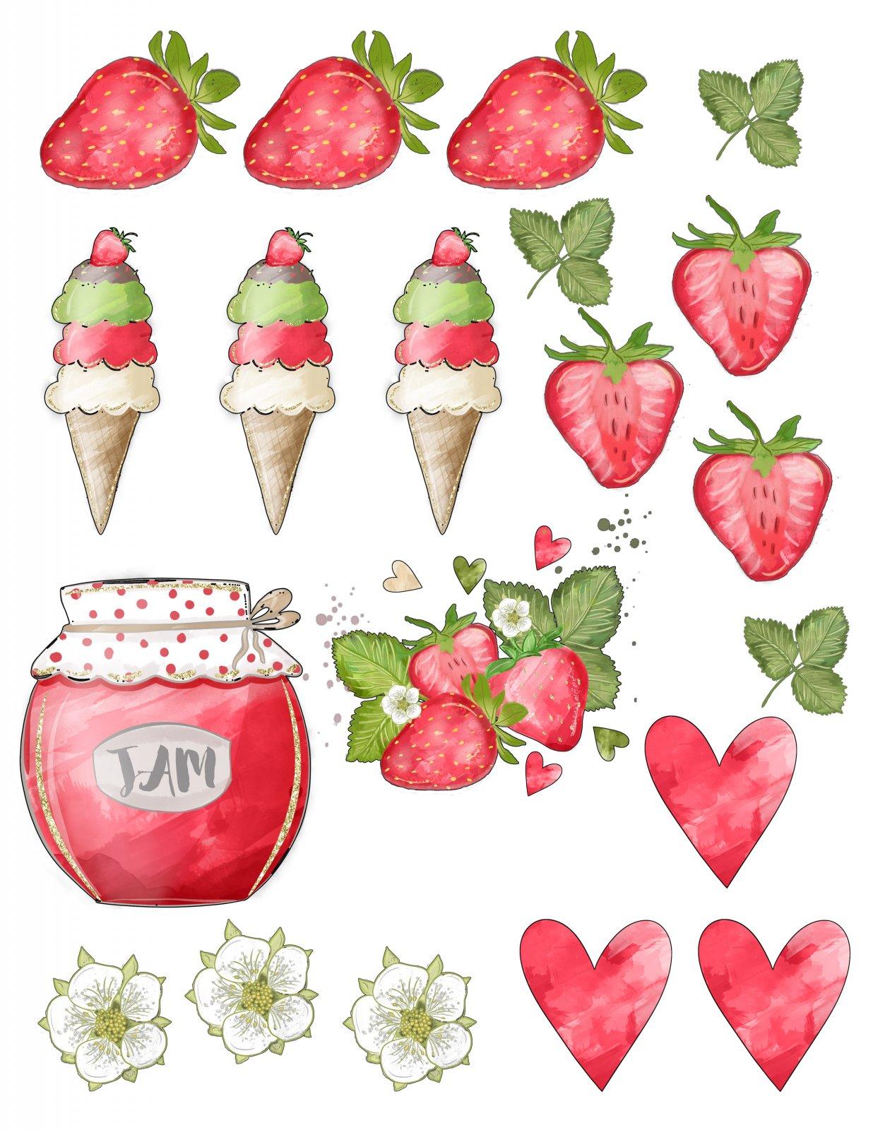 Scrapping for Less Ephemera Strawberry Fields