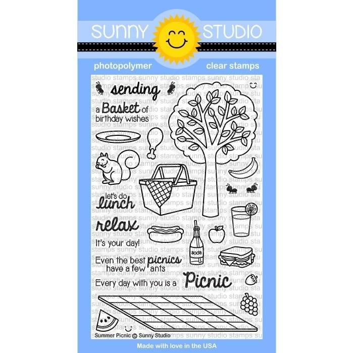 Sunny Studio Stamps Summer Picnic