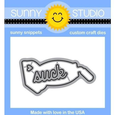 Sunny Studio Clear Stamps and Die Bundle That Sucks