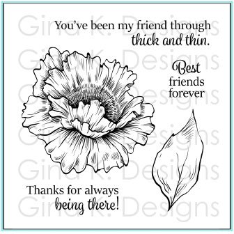 Gina K Designs Clear Stamps Through Thick and Thin