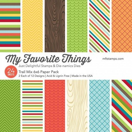 My Favorite Things 6x6 Paper Pad Trail Mix