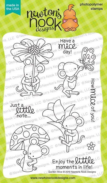Newton's Nook Designs Garden Mice