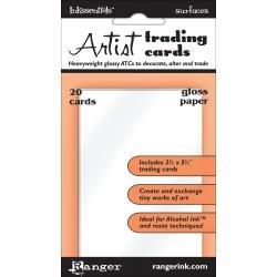 Inkssentials Surfaces Gloss Paper ATCs 20/Pkg 2.5X3.5