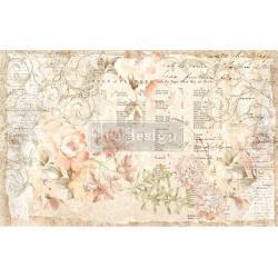 Prima Re-Design Decoupage Decor Tissue Paper 19X30 2/Pkg-Floral Parchment