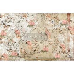 Prima Re-Design Decoupage Decor Tissue Paper 19X30 2/Pkg-Botanical Imprint