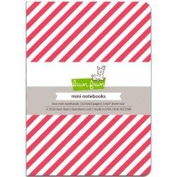 Lawn Fawn Mini Notebook 3.5X5 2/Pkg Let It Shine