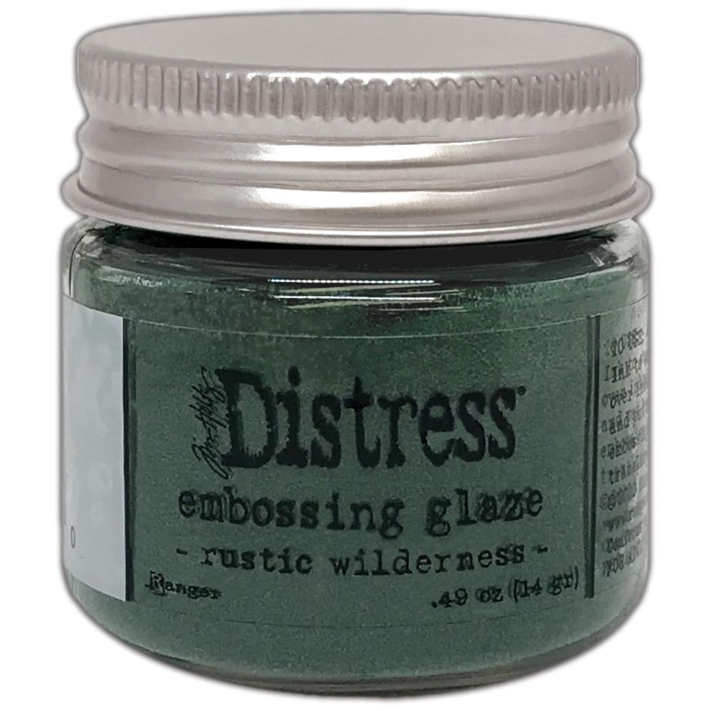 New! Tim Holtz Distress Embossing Glaze - Rustic Wilderness