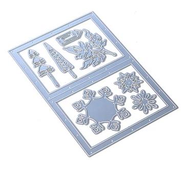 Elizabeth Craft Metal Die-Snowy Windows