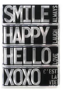 Elizabeth Craft Clear Stamps-Block Words - Hello
