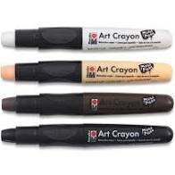 Essential Art Crayon 4PK