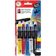 Primary Art Crayon 5PK