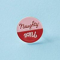 Punky Pins Naughty/Nice Enamel Pin
