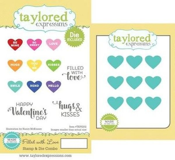 Filled With Love Stamp Combo