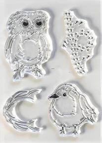 Elizabeth Craft Clear Stamps- Bird Song