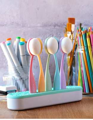 Pastel Blender Brushes Set of 5