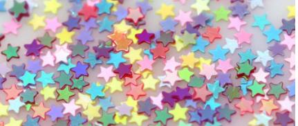 3MM Stars Iridescent