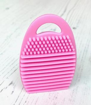 Blender Brush Cleaning Tool - Pink or Aqua