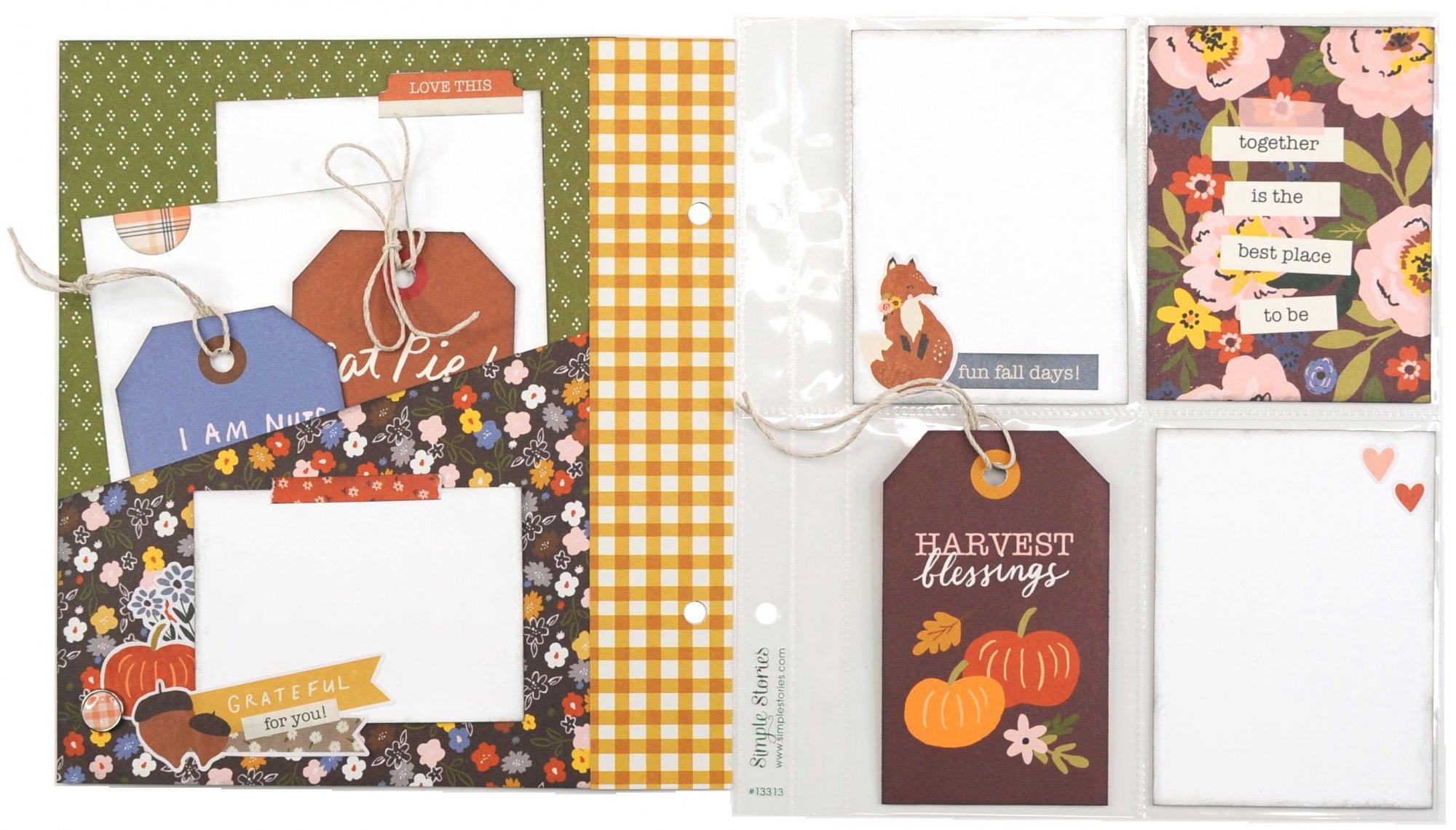 Cozy Days 6x8 Snap Flipbook Project Kit