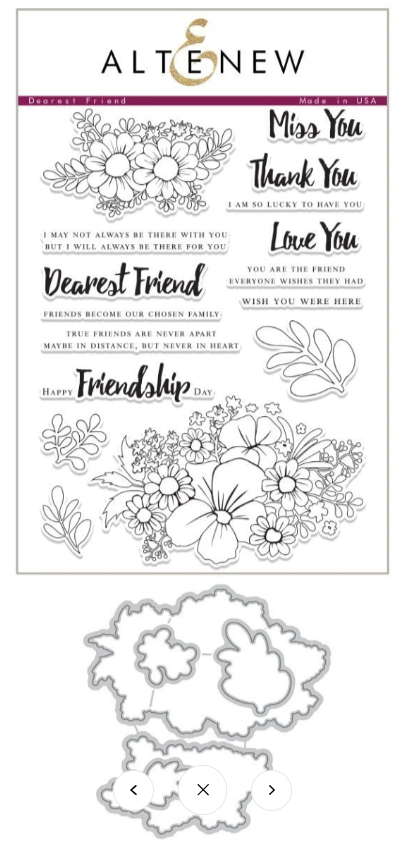 Bundle Dearest Friend Stamp & Die
