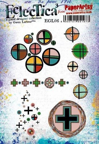 EGL06 Gwen Lafleur Cling Rubber Stamp Set 6