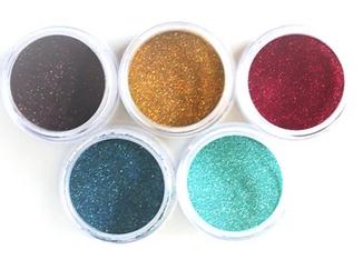 Elizabeth Craft Designs Silk Microfine Glitter Palette 5/Pkg-Earth