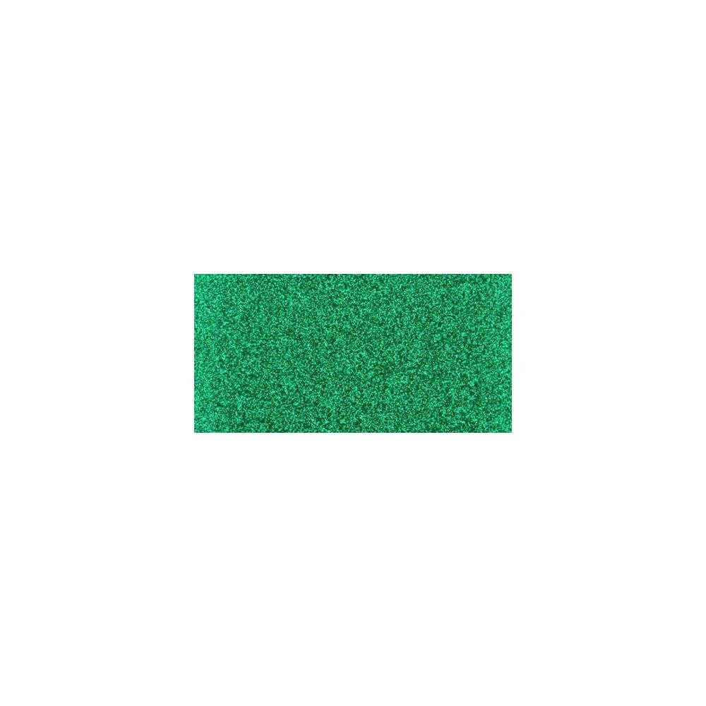 Non-Shed Glitter Cardstock 12X12 1 sheet Emerald