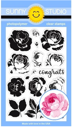 BUNDLE Everything's Rosy Stamp and Die Sets