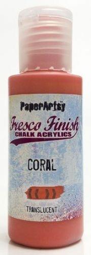 Coral Fresco Finish Paint