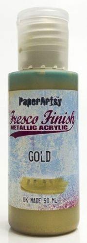 Gold Fresco Finish Paint