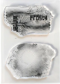 Elizabeth Craft Clear Stamps-Frosty Patterns