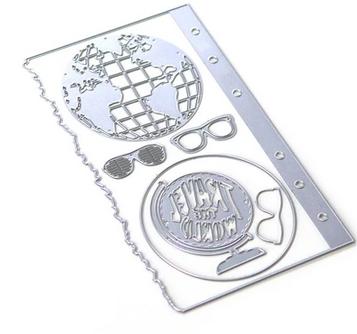 Elizabeth Craft Metal Die-Planner Essentials 28 - Globe
