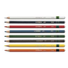 Stabilo All Black Pencil