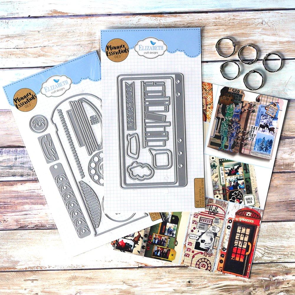 New! Elizabeth Craft Metal Die-Phone Booth Ltd. Edition Kit